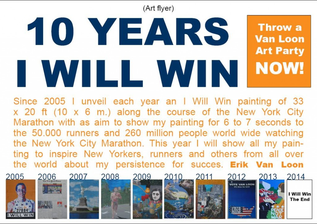 10 years I Will Win flyer