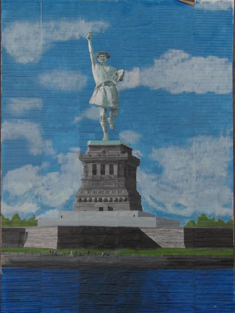 i will win - the statue