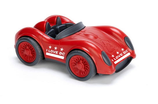 i love dc car