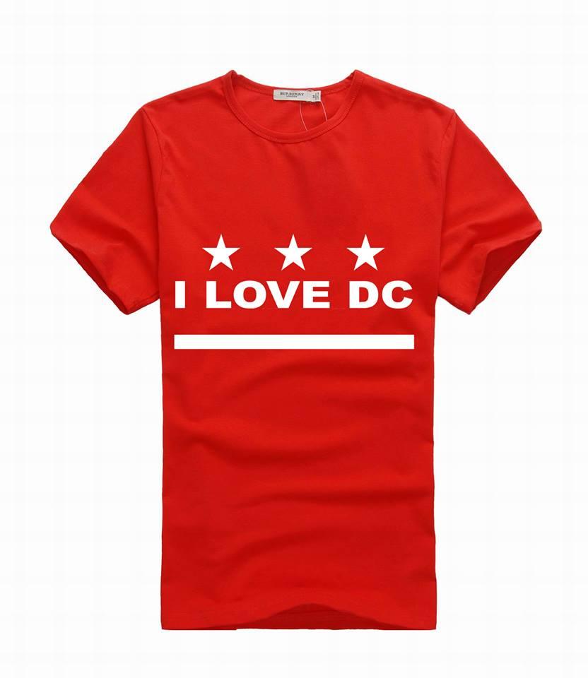 i love dc tshirt stars