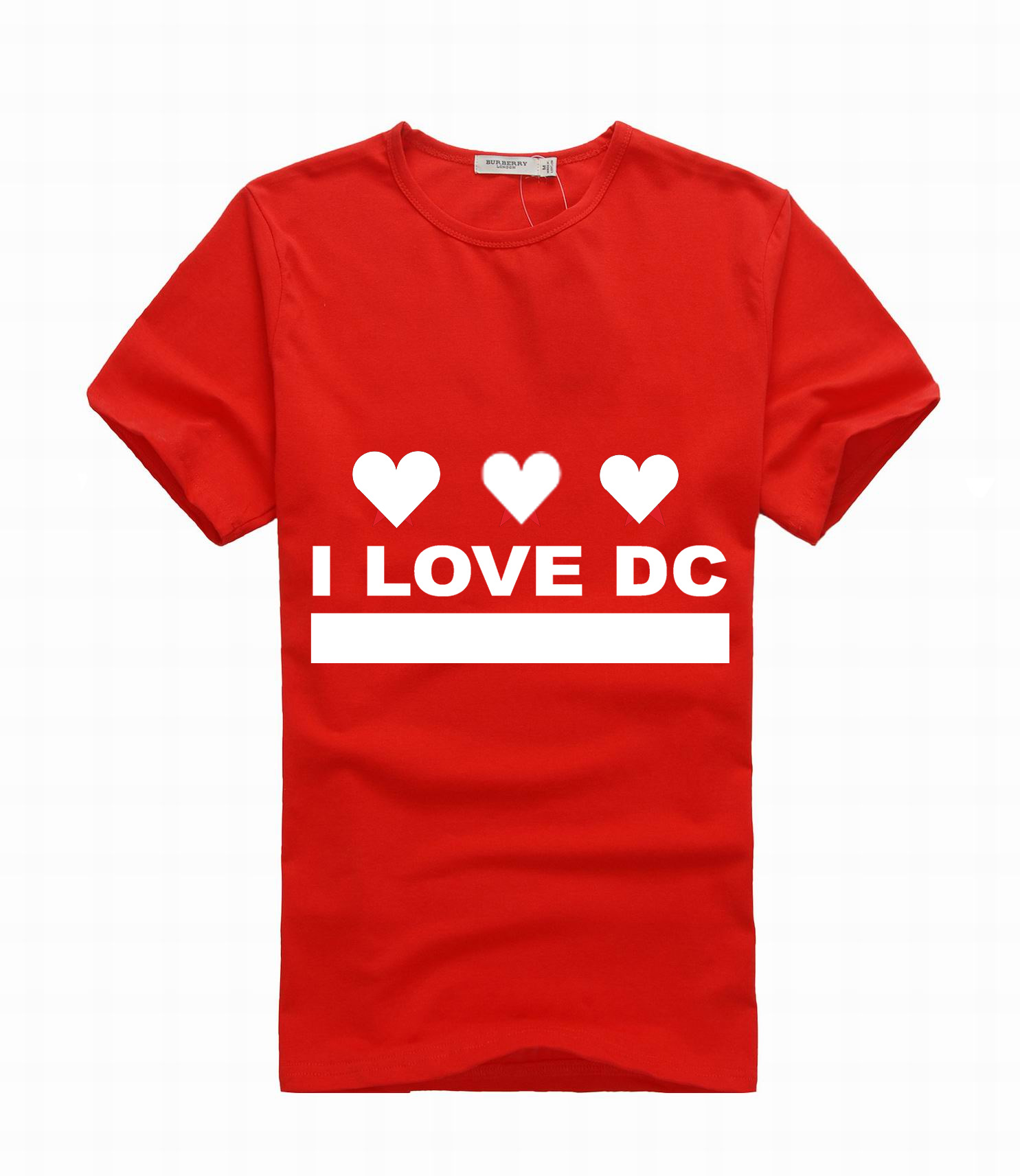 i love dc tshirt in black 13 inch copy